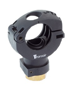 "Transair RA68 25N04 7/8"" ID Direct Feed Simple Bracket with Thread"