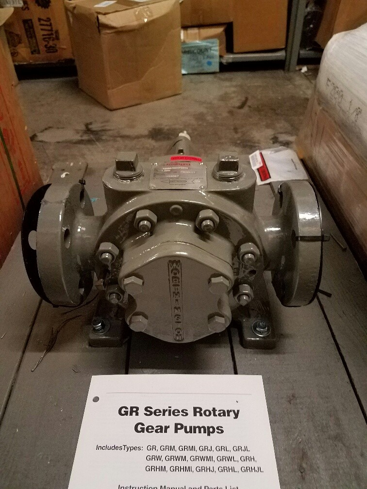 Worthington Rotary Gear Pump 1 5 GRM Flanged 1-1/2