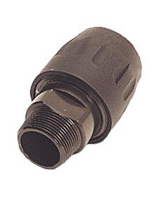"Transair 6605 40 43 1-1/4"" NPT Male Threaded Connector"