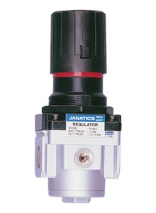 "Janatics R14924-N 3/8"" NPT Regulator with Non-Return Valve (7.25 - 140 PSI)"